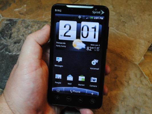 HTC EVO Update