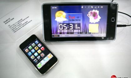 Huawei Smakit S7 Android Tablet Showcased at CommunicAsia