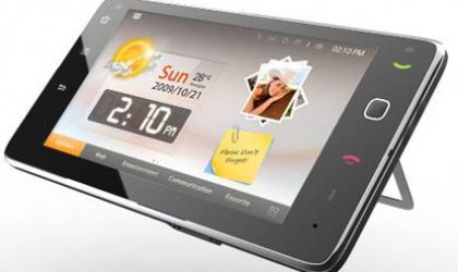 Huawei SmaKit S7, an android tablet with 1 Ghz Snapdragon processor