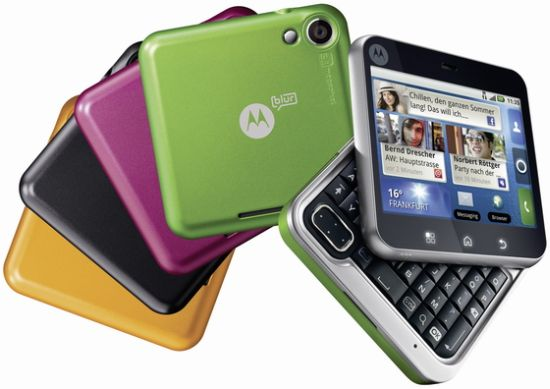 Motorola Flipout Colors Available