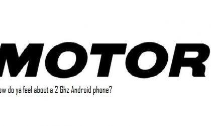 Android to outdone iPhone with a 2 Ghz Motorola phone