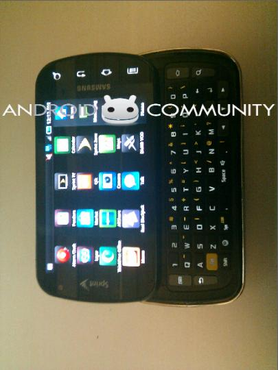 Leaked Picture of The QWERTY Samaung Galaxy S Pro appears