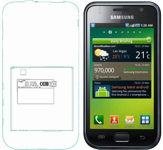 Samsung Galaxy S T959 FCC