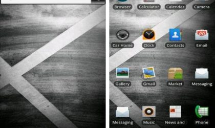 Droid X ADW Theme, an Android App for Droid X Wannabes