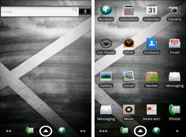 Droid X Theme android app
