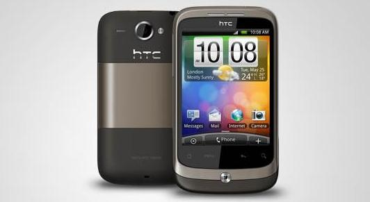 HTC Wildfire India launch