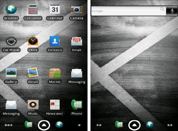 droid x adw theme android app