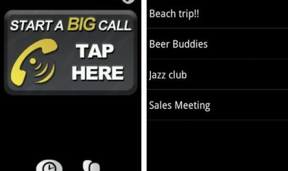 Big Call Android App makes It Damn Easy to Make a Conference Call!