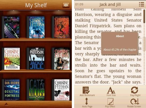 Laputa Book Reader android app