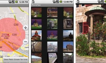 Photoflux Android App – For Location based image browsing