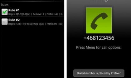Easily Add Prefixes / Suffixes to Numbers On The Go with the Prefixer Android App