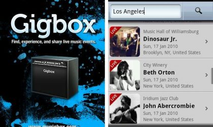 Never Miss Another Concert of Your Fav Artists With the Gigbox Android App