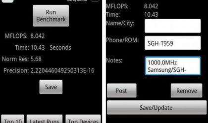 Test Your Phone's Firepower with the Benchmarking Tool, Linpack for Android!