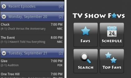 TV Shows Favs Android App: Track Your Fav TV Shows Right From Your Phone