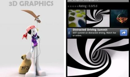 3D Graphics Wallpapers Android App – Spice Up Your Android Phone With Some Cool Wallpapers