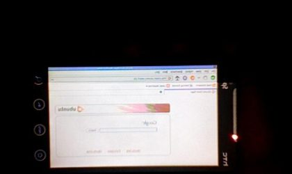 Ubunto on HTC EVO? It's Possible!