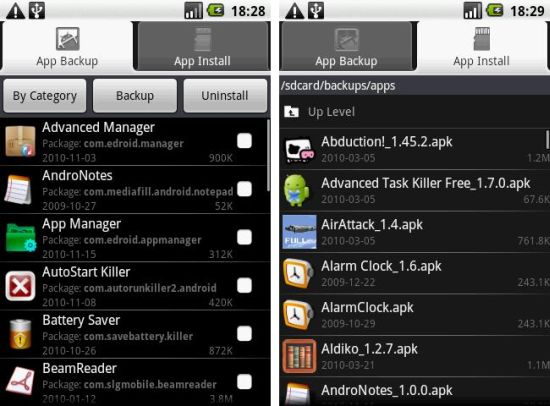 Application manager android app backup install uninstall apps application manager android app backup install uninstall apps with ease publicscrutiny Choice Image