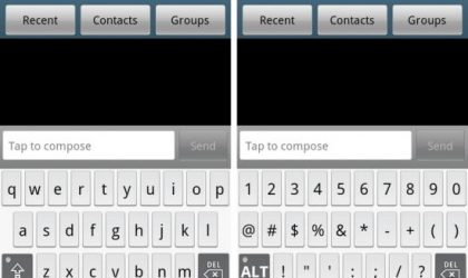 Get the Droid X's MultiTouch Keyboard on Samsung Galaxy S Devices