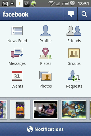 Facebook for android gets an update, brings high resolution picture uploads