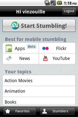 StumbleUpon for Android