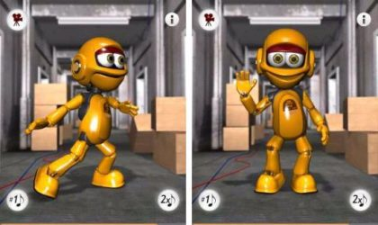 Talking Roby The Robot Android App: Play With a Funny Robot Who Got Hip-Hop Moves