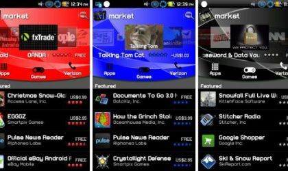 Android Market v2.2.7 in Black, Blue and Red Color [Guide]