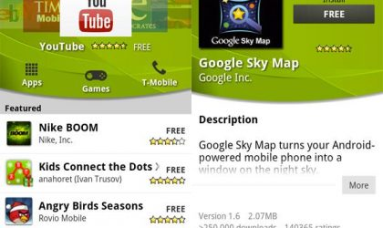 Android Market Update Starts, Compatible with Android 1.6 and Higher Devices