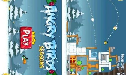 Angry Birds Seasons Launched by Rovio. Packs in 25 Christmas Special levels and 45 Halloween levels Too!