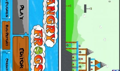 Angry Frogs: A copycat game of Angry Birds (Shameful?)