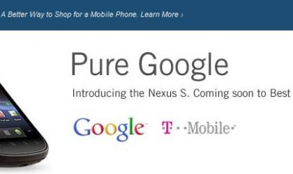 Best Buy Notifies Launch Details for Nexus S
