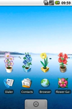 Flower Garden beta version Android App