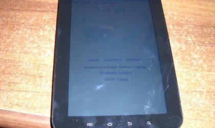 Galaxy Tab's Super Shield, Gorilla Glass gets Broken in Just 35 cm Drop [FAIL]