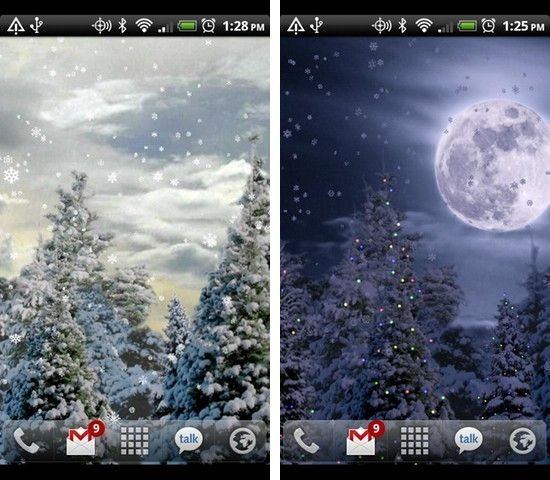 Snowfall Full Live Wallpaper