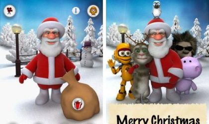 Talking Santa Android App: This Christmas, It's Your Turn to Play with Santa!