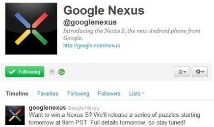 Best Nexus S Offer: Win it for Free from Google!