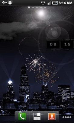 2011 Countdown Live Wallpaper