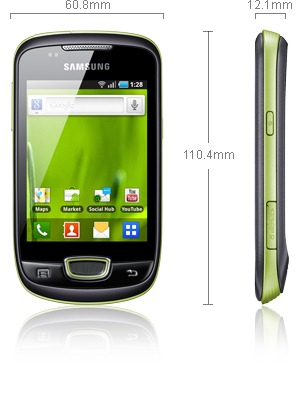 Samsung Galaxy Mini Specifications
