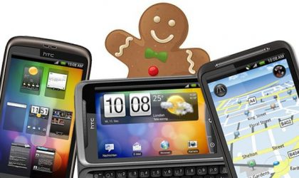 Gingerbread Update for HTC Desire Family and Incredible S in Q2