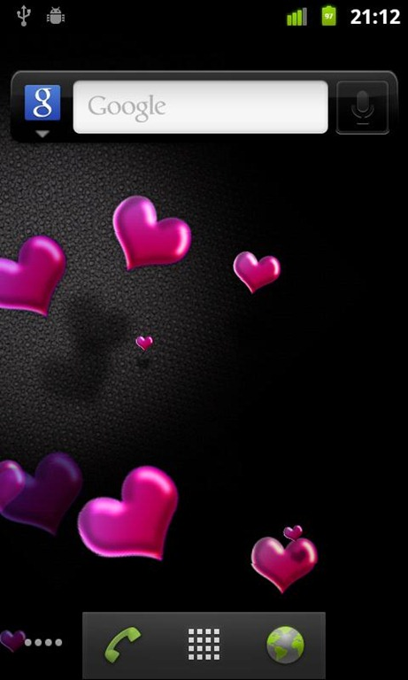 Animated Hearts Live Wallpaper 1