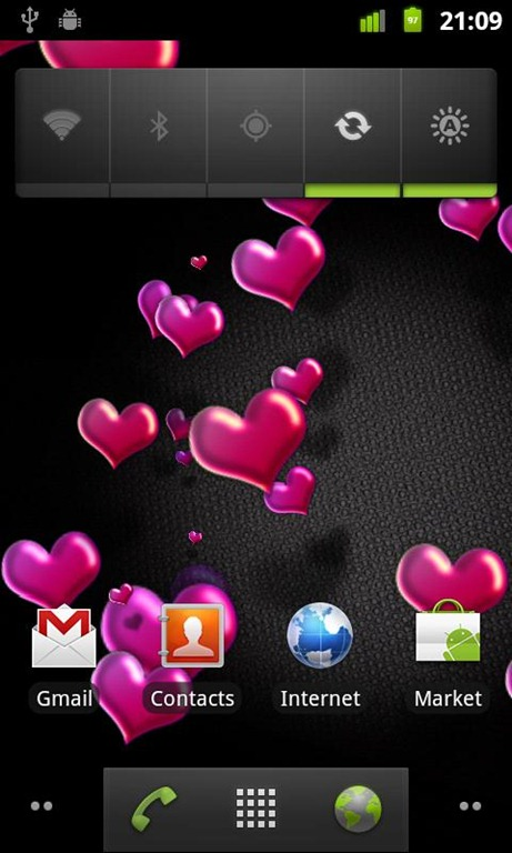Animated Hearts Live Wallpaper 2