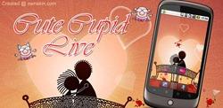 Cute Cupid Live Wallpaper