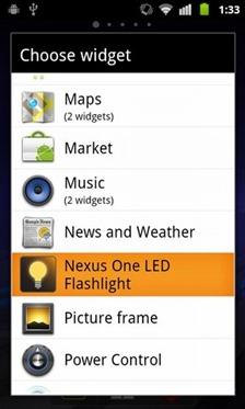 Nexus One LED Flashlight 1