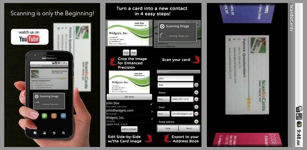 ScanBizCards Biz Card Reader