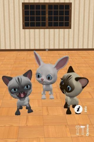 Talking 3 Friends Cats & Bunny1