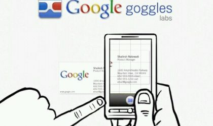 Google Goggles gets an update