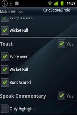 CricScoredroid - Live Cricket 2