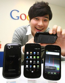Nexus S Hits Korea. Available with KT and SKT for 800,000 Wons ($712 approx.)