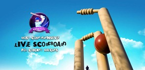 World Cup cricket live score 1