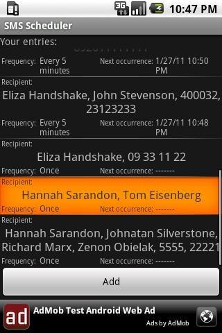 SMS Scheduler 1