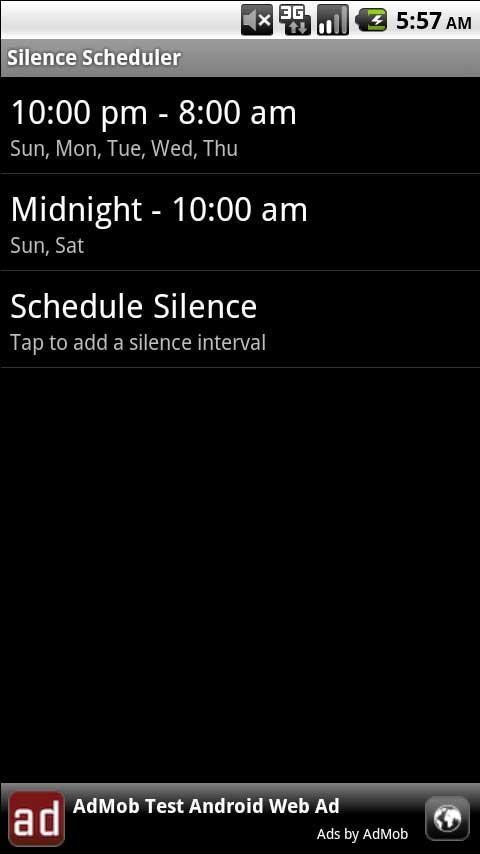Silence Scheduler 2